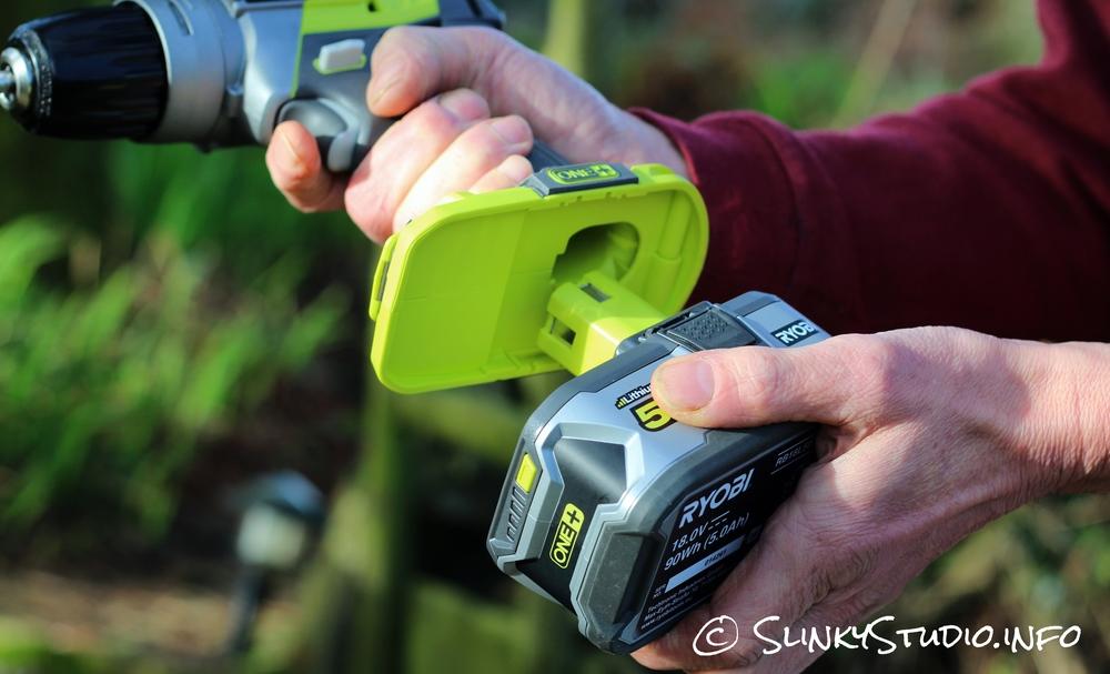 Ryobi 18V One+ Brushless Drill 5Ah Battery