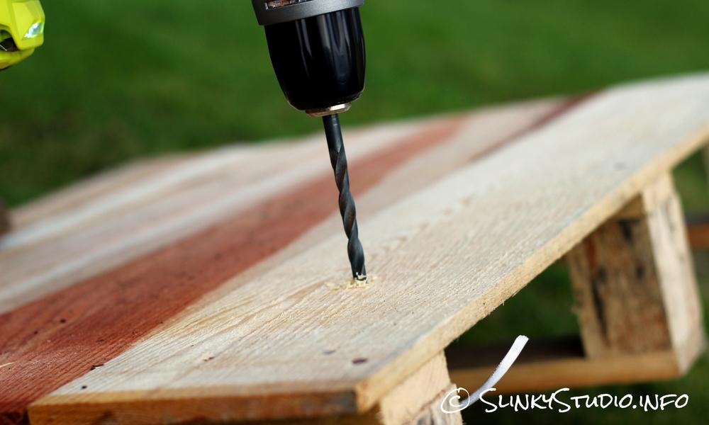 Ryobi 18V One+ Brushless Drilling into wood.jpg