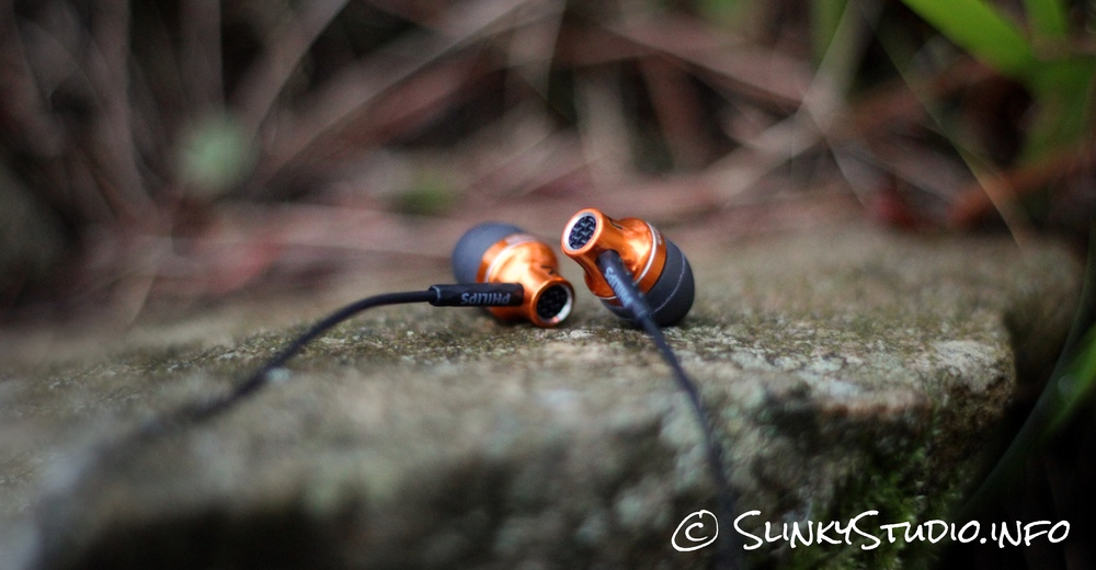 Philips SHE9105 Earphones Brass Copper