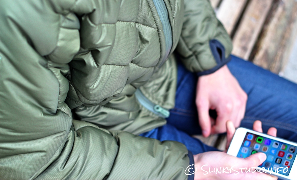 Snugpak SJ6 Jacket Sitting on Bench using iPhone.jpg