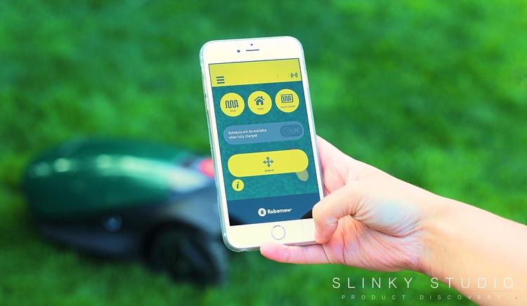 Robomow RC304 Robot Lawnmower App Home Screen Features.jpg