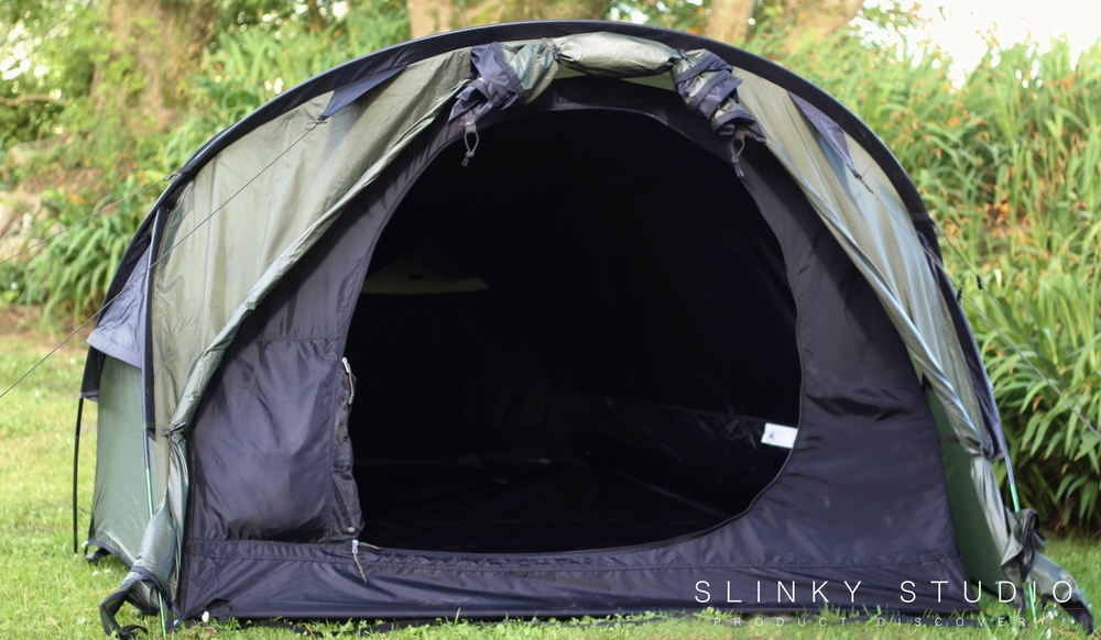 Snugpak Scorpion 3 Tent Front Fully Open Close Up.jpg