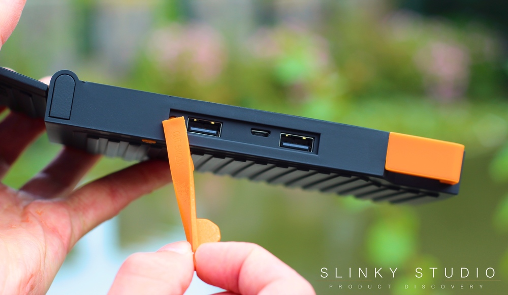 Xtorm Evoke Solar Charger USB Ports.jpg