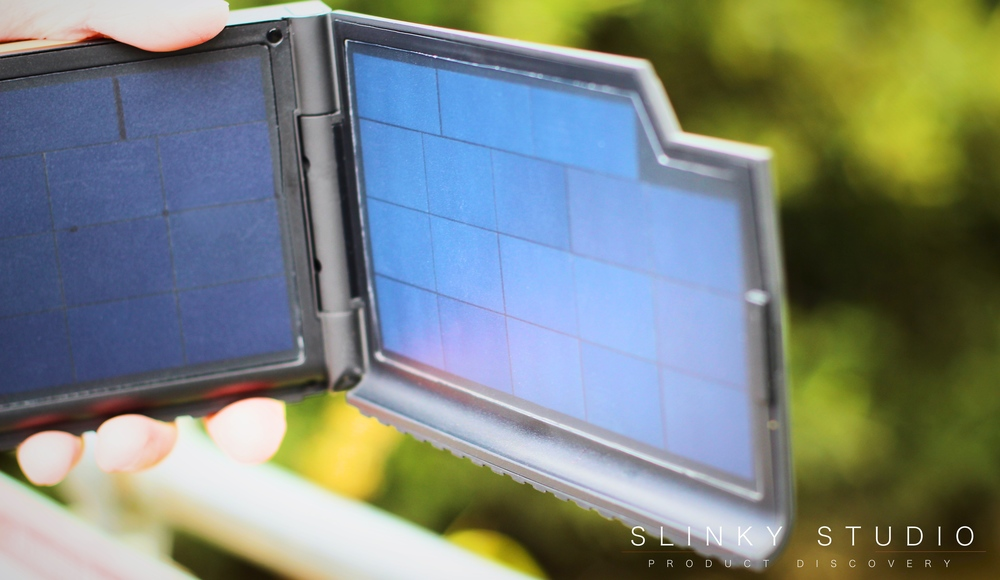 Xtorm Evoke Solar Charger SunPower Panel Cells Close Up.jpg