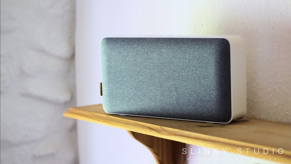 SACKit MOVEit Speaker on Shelve Tilted View.jpg