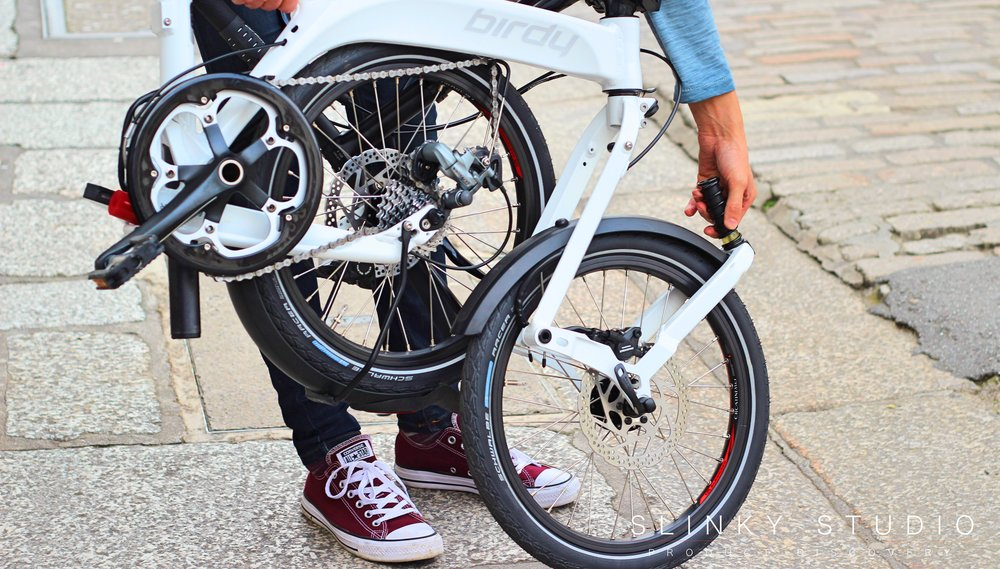 Birdy Speed Folding Bike Unfolding Front Wheel.jpg