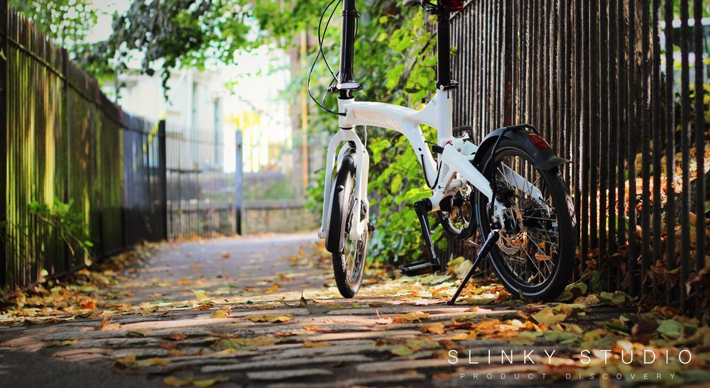 Birdy Speed Folding Bike White Leafy Autumn Path.jpg