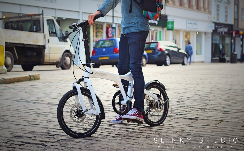 Birdy Speed Folding Bike White Resting.jpg