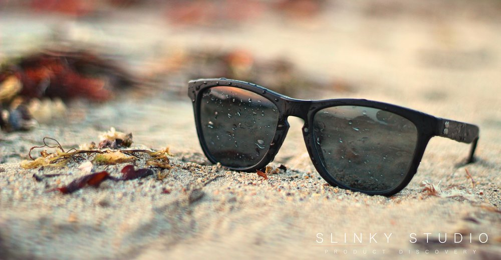SunGod Classics² Sunglasses Sun Relfecting off Glass.jpg