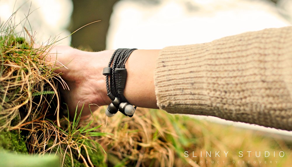 Wraps Wristband Earphones Black.jpg