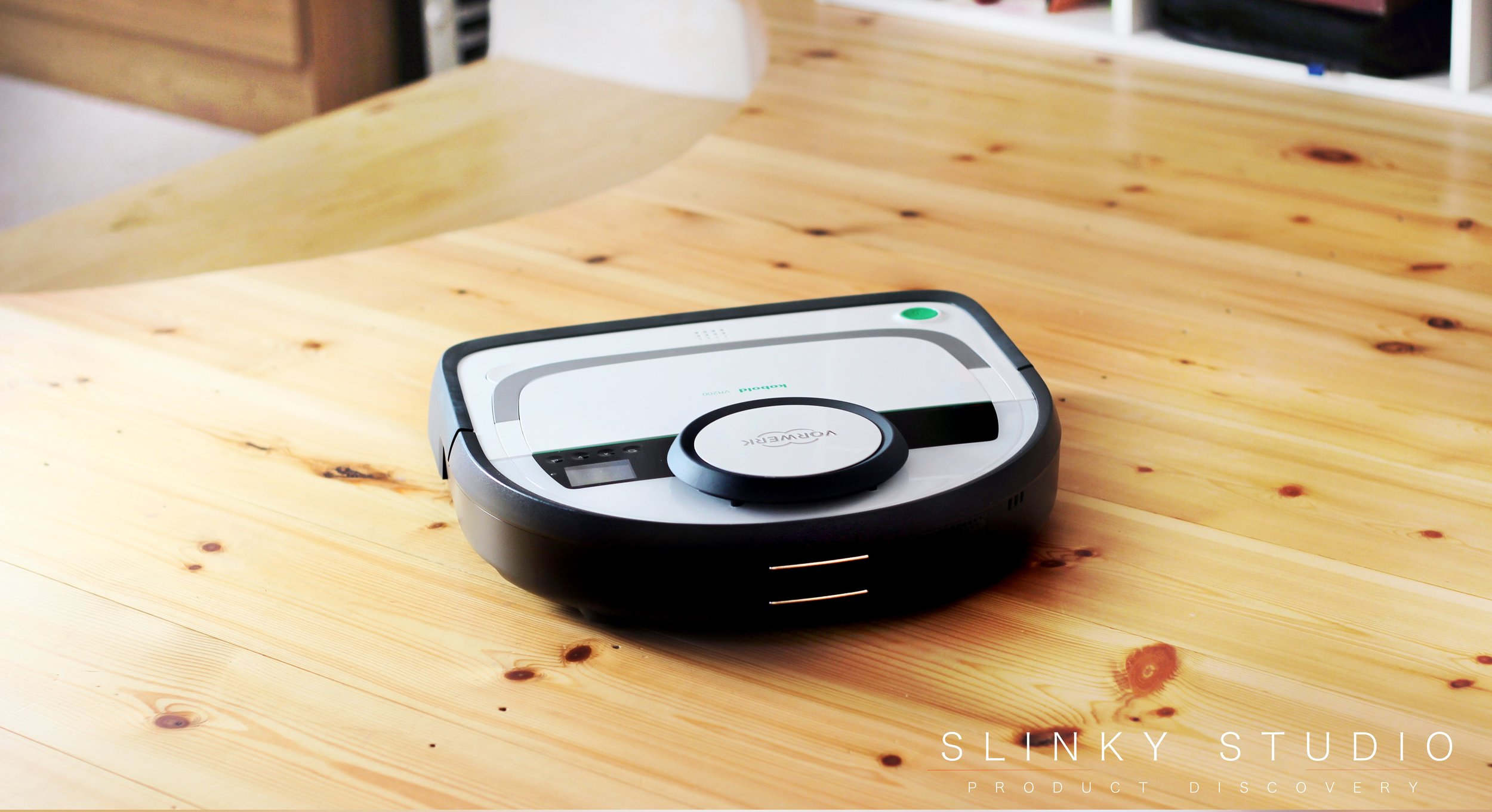 Vorwerk Kobold VR200 Robot Cleaner Review  Slinky Studio