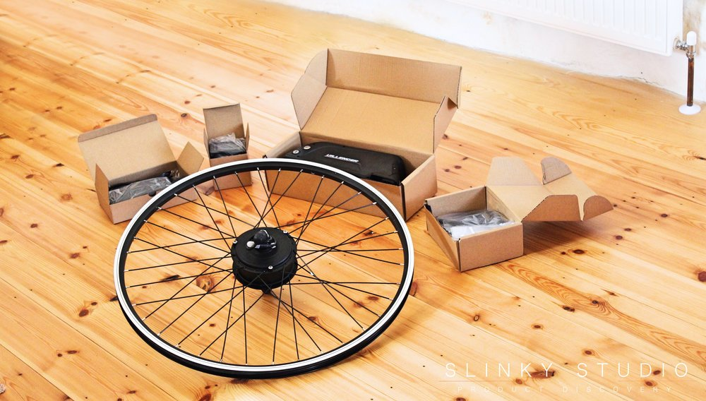 Dillenger eBike Street Legal Conversion Kit What's in the box