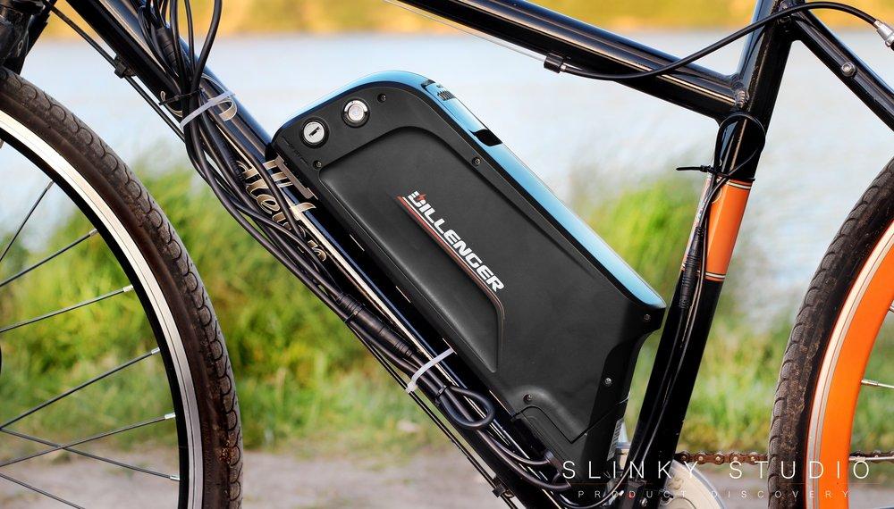 Dillenger Street Legal eBike Conversion Kit Samsung Battery