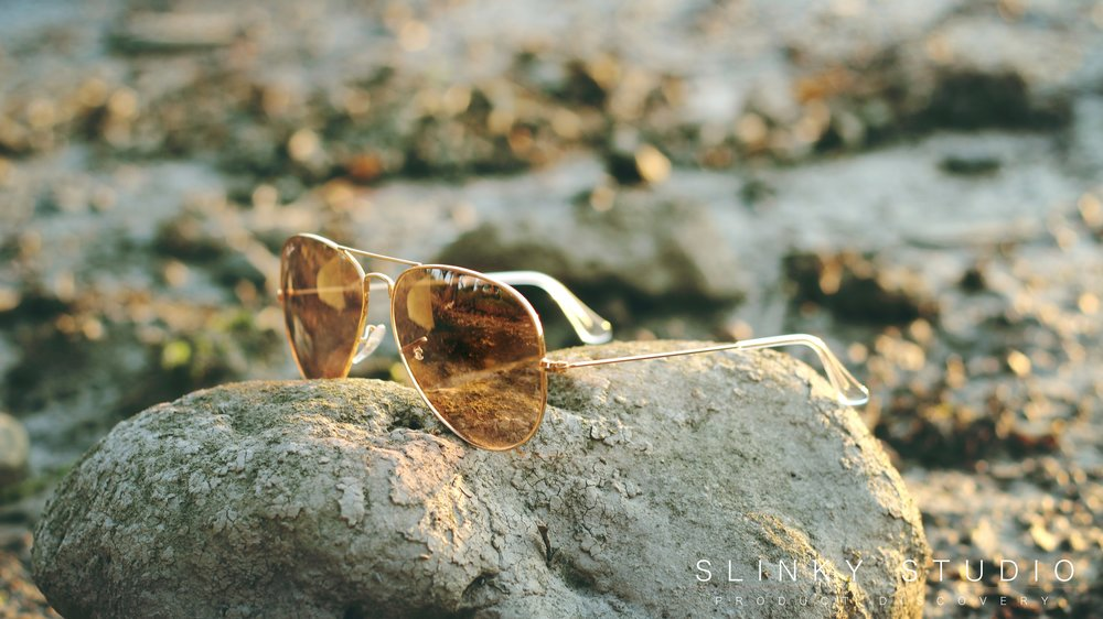 Ray Ban Aviator Sunglasses RB3025 Side View.jpg