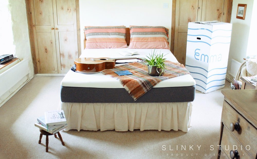 Emma Mattress on Divan in old country cottage bedroom.jpg