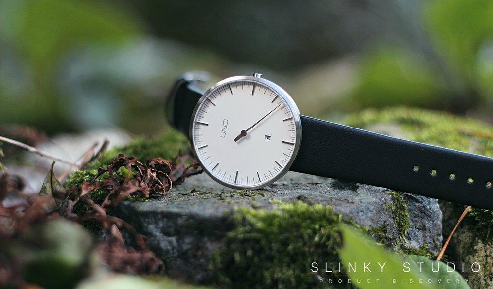 Botta Design Anniversary UNO+ Watch Pearl White