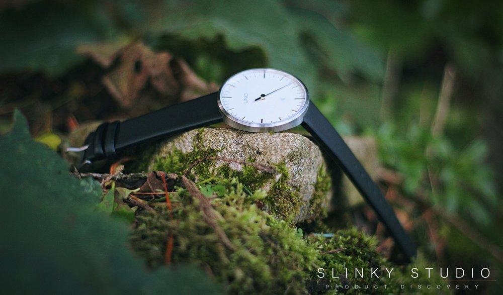 Botta Design Anniversary UNO+ Watch Pearl White Full View.jpg