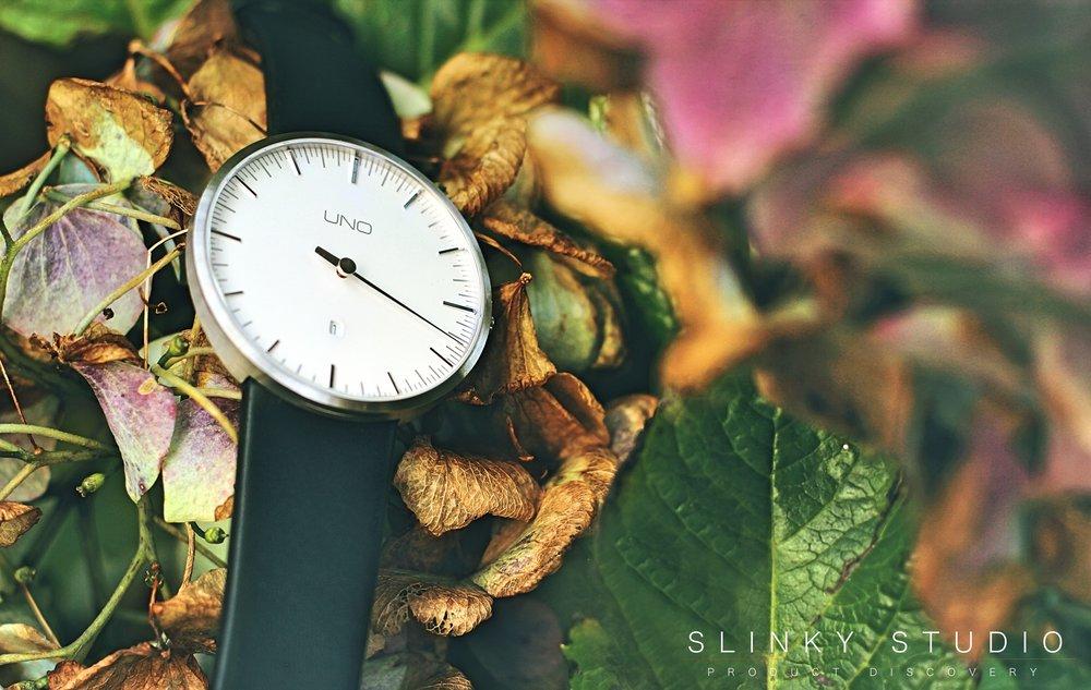 Botta Design Anniversary UNO+ Watch Face Close Up