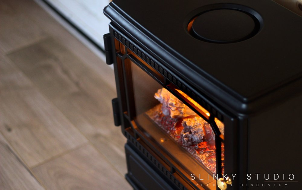 Dimplex Opti-myst Gosford Electric Stove Above View Door.jpg