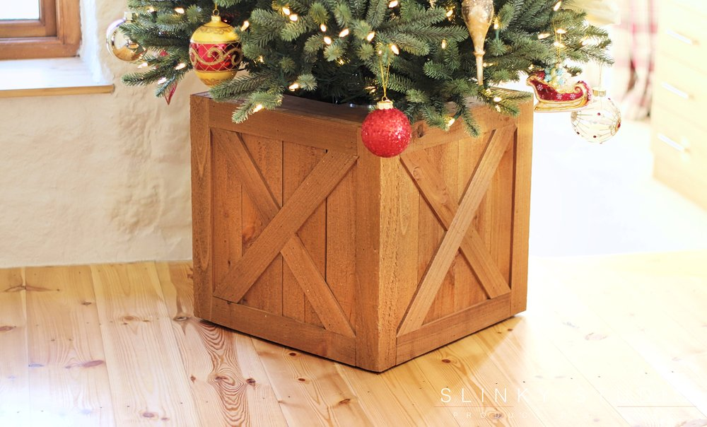 Balsam Hill Royal Blue Spruce Christmas Tree Wooden Rolling Tree Stand.jpg