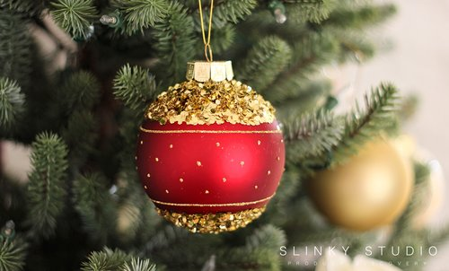 balsam hill royal blue spruce christmas tree bauble red goldjpg - Royal Blue And Gold Christmas Decorations