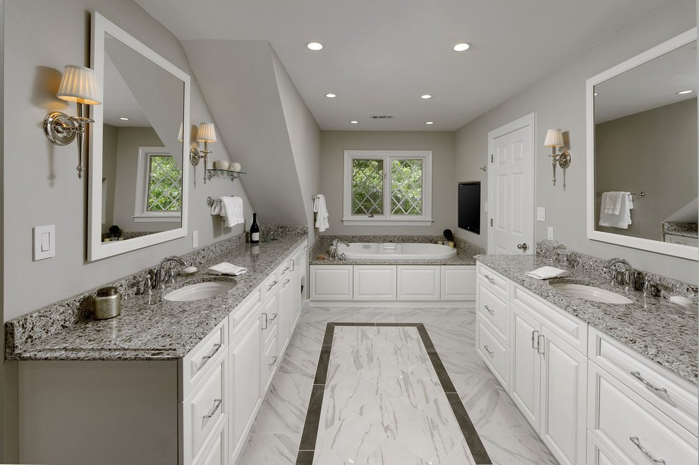 OAKTON VIRGINIA MASTER BATHROOM