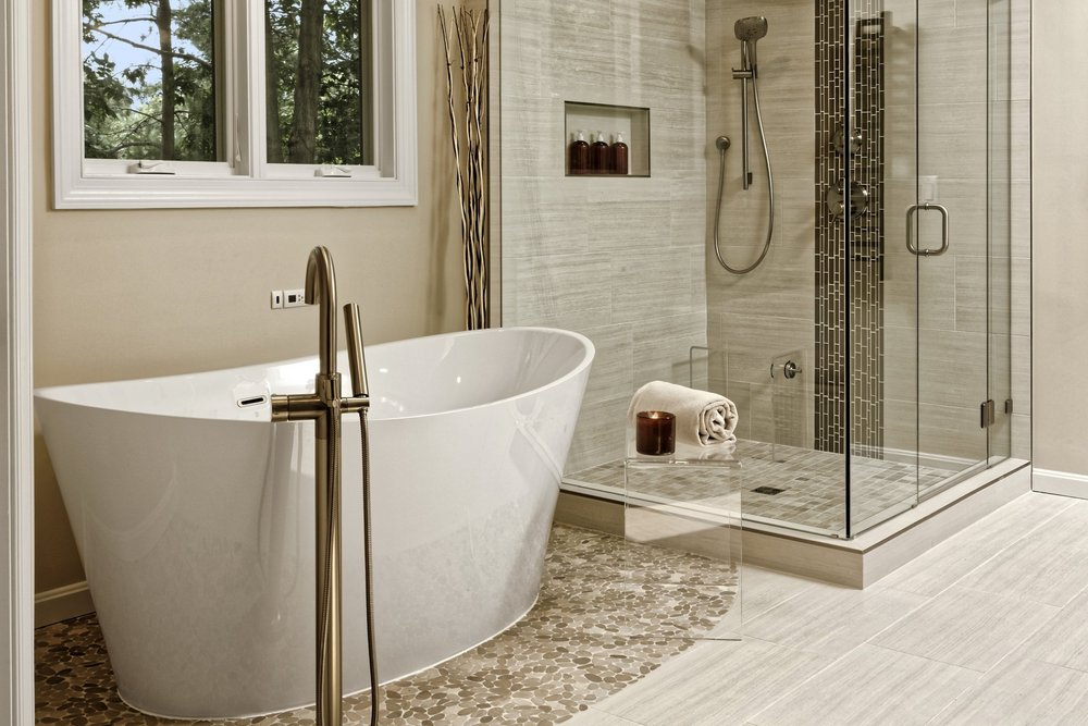 ASHBURN VIRGINIA MASTER BATHROOM
