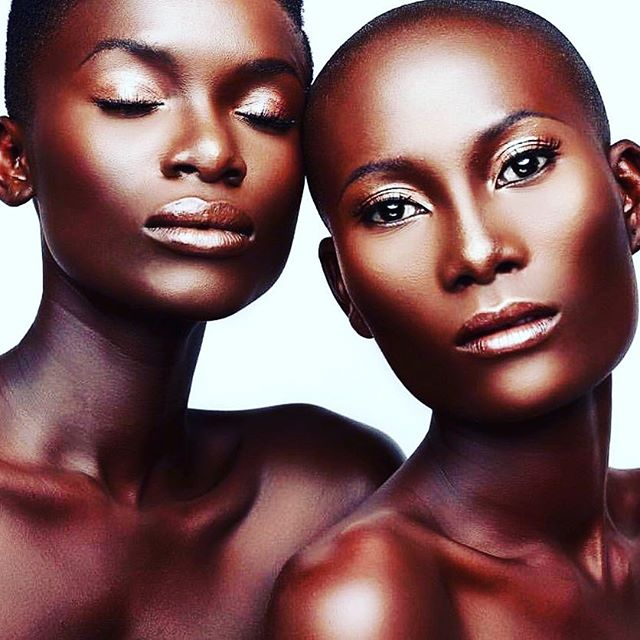 "#magic #chocoloate  Loving that #even #skin . . Photo by @thereal_asareprince . ""Believe in your #melanin 📸📸by @1grandberry #blackbeauty #makeup #melanin pippin #dark #editorial #africaqueens #asareprincebeauty #makeupbyasare #darkskin #darkskingirls #darkskinbeauty #highlights #contour #bronzed #blackhistorymonth #blackhistory"