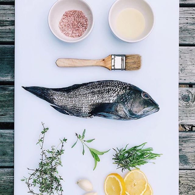 "Sundays are for?  What do you make on your day off? . . Photo by @bkbiersten . ""Before it dropped to 52 degrees here in NYC, there was a moment of summer! I took advantage of it with a trip to the farmers market where I purchased this sea bass from a local fisherman. ———————————— I stuffed it with fresh herbs from my garden, garlic, and lemon slices. Coated it with some oil and blend of paprika and course sea salt, then grilled it on our @traegergrills. About 10 minutes each side, and I was left with a gorgeous, flaky, juicy piece of fish! ———————————— . . . #traeger #grill #grilling #summer #summertime #seabass #wholefish #fortgreene #farmersmarket #fortgreenefarmersmarket #brooklyn #nyc #backyard #garden #herbs #f52grams #instagood #instafood #iphoneonly #iphone8plus #foodporn #foodpic #brunch #homemade #fresh #wild #buzzfeast  #local #foodgram"