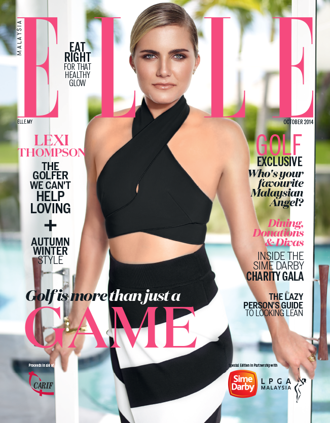 ELLE MAGAZINE COVER // LEXI THOMPSON  LOCATION: MIAMI, FLORIDA