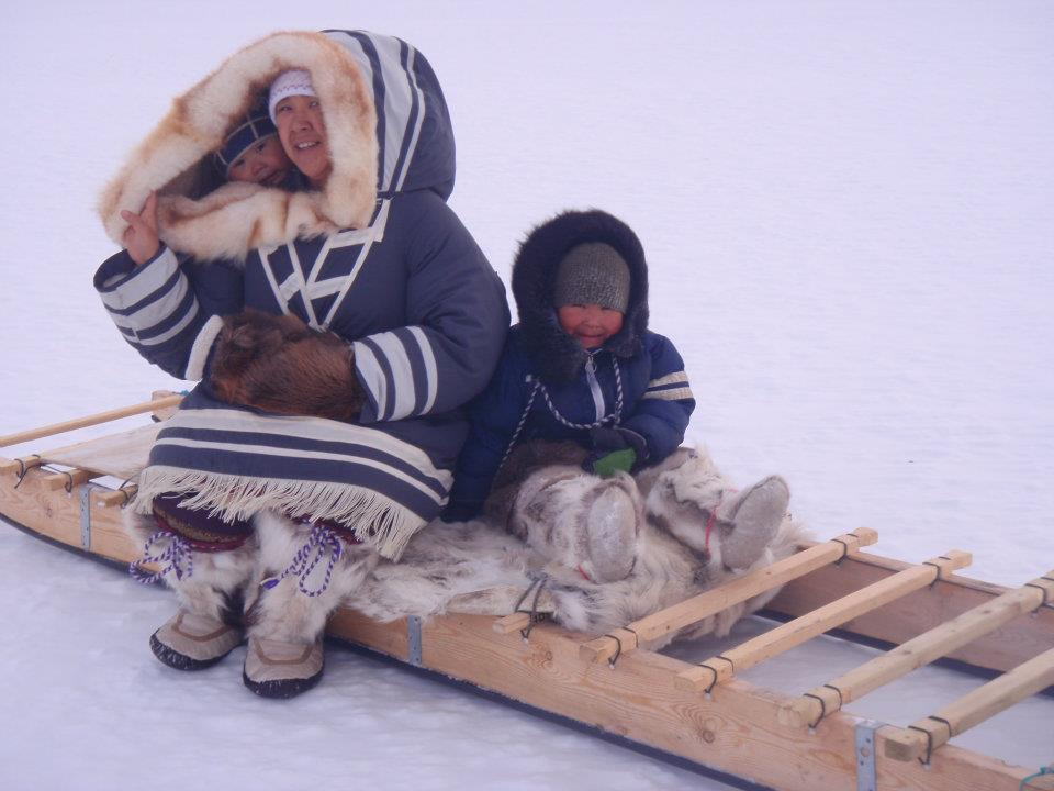'Cold Day' by Elizabeth Inuarak, Pond Inlet