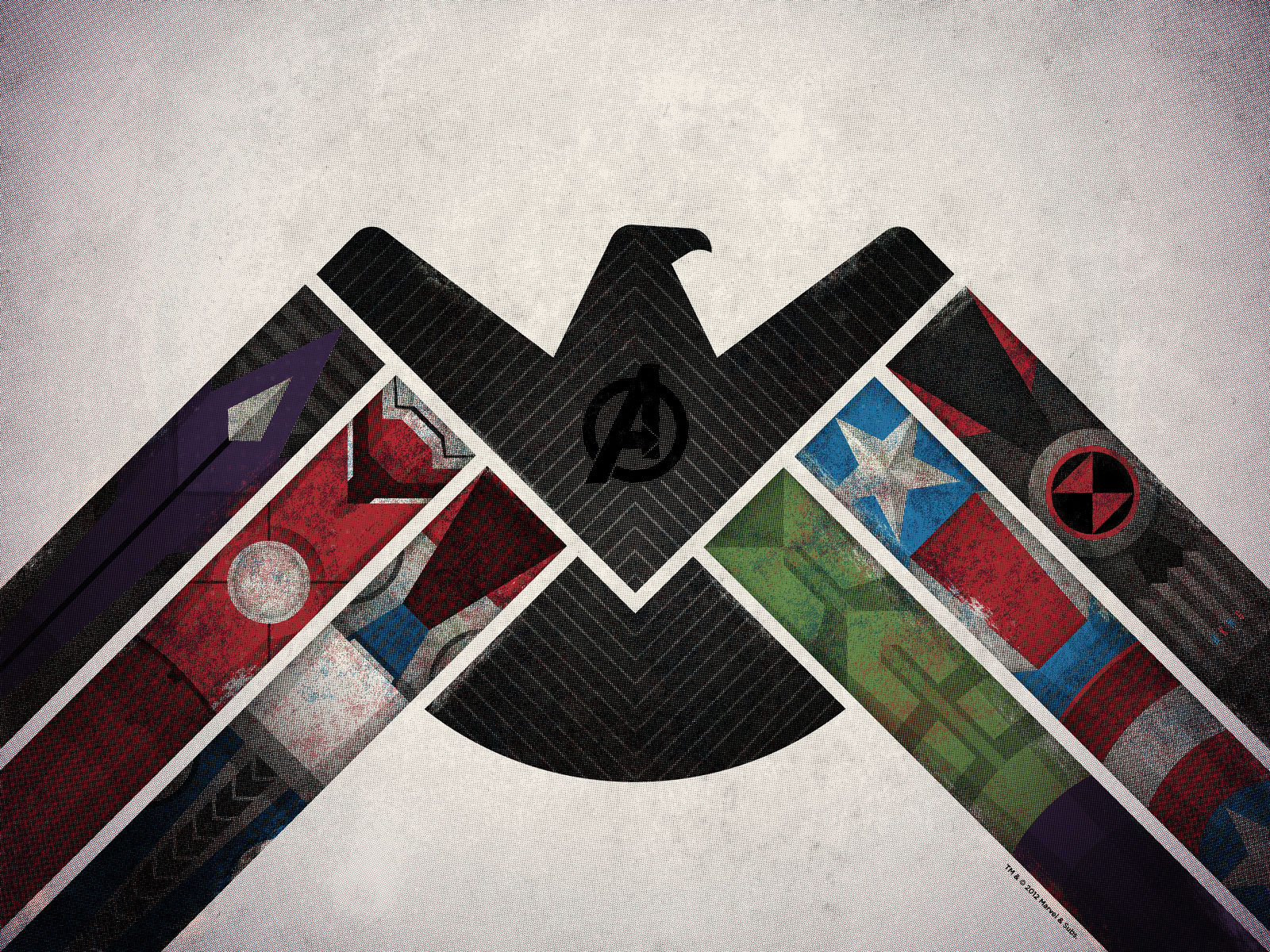 The Avengers Art Print Dkng
