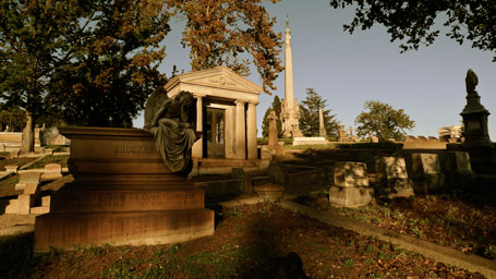 Oakland Cemetery Mausoleum