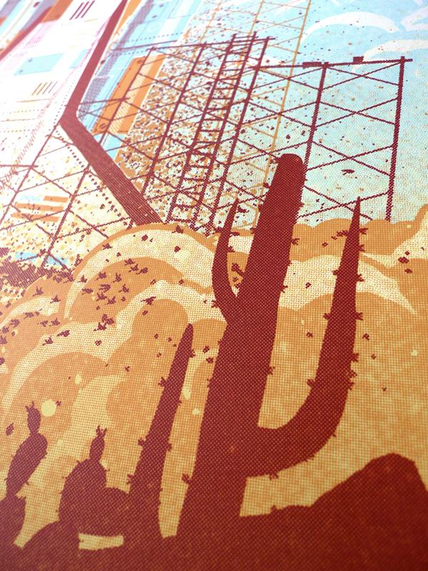 Detail The Black Keys // Phoenix, AZ Poster by DKNGstudios