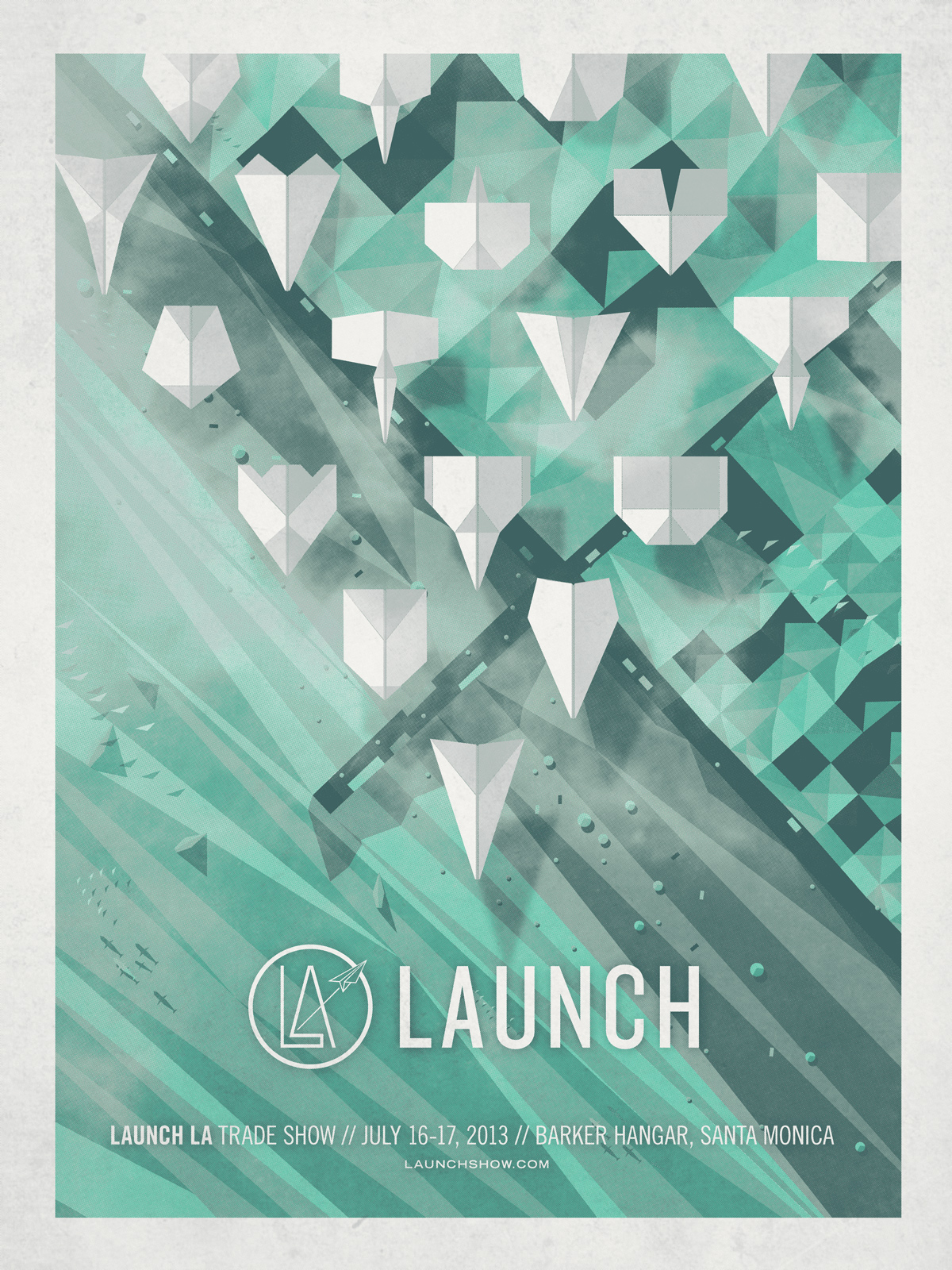 Launch LA Event Poster — DKNG for Creative Event Posters  181obs