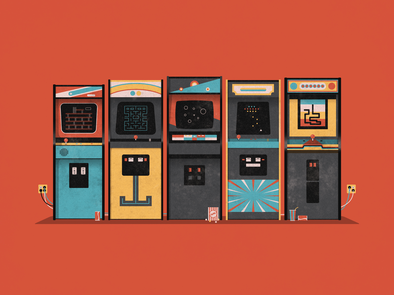 Arcade Debuts At Iam8bit Entertainment System DKNG