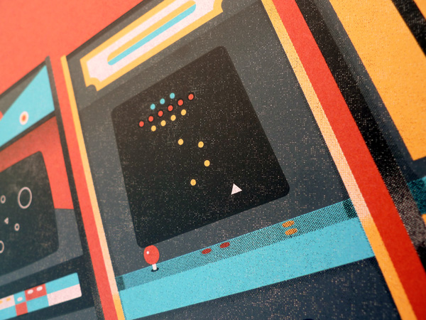 Arcade Art Print by DKNG