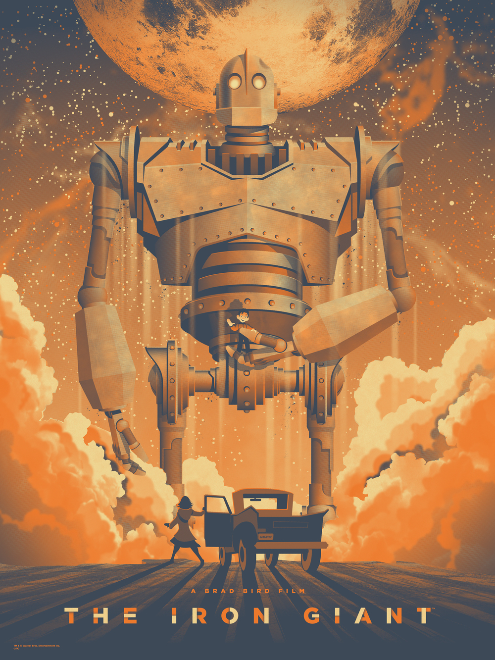 The Iron Giant Poster by DKNG