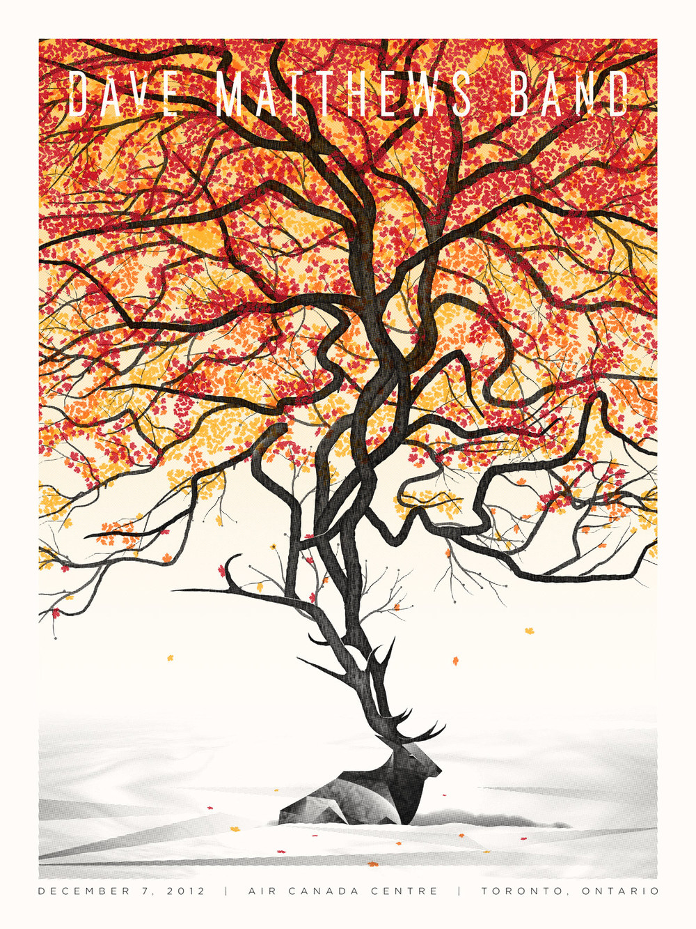Dave Matthews Band Poster by DKNG