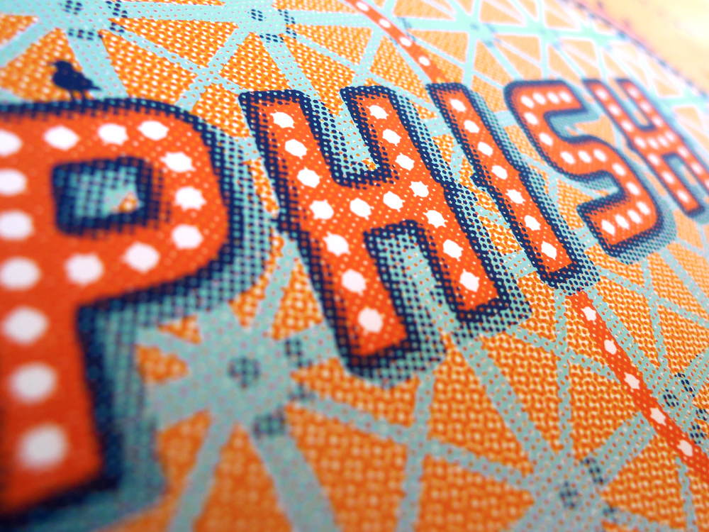 Phish Gig Posters by DKNG