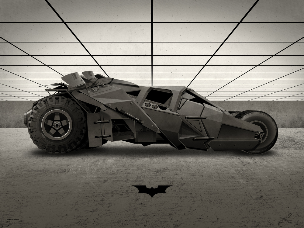 The Tumbler Poster by DKNG
