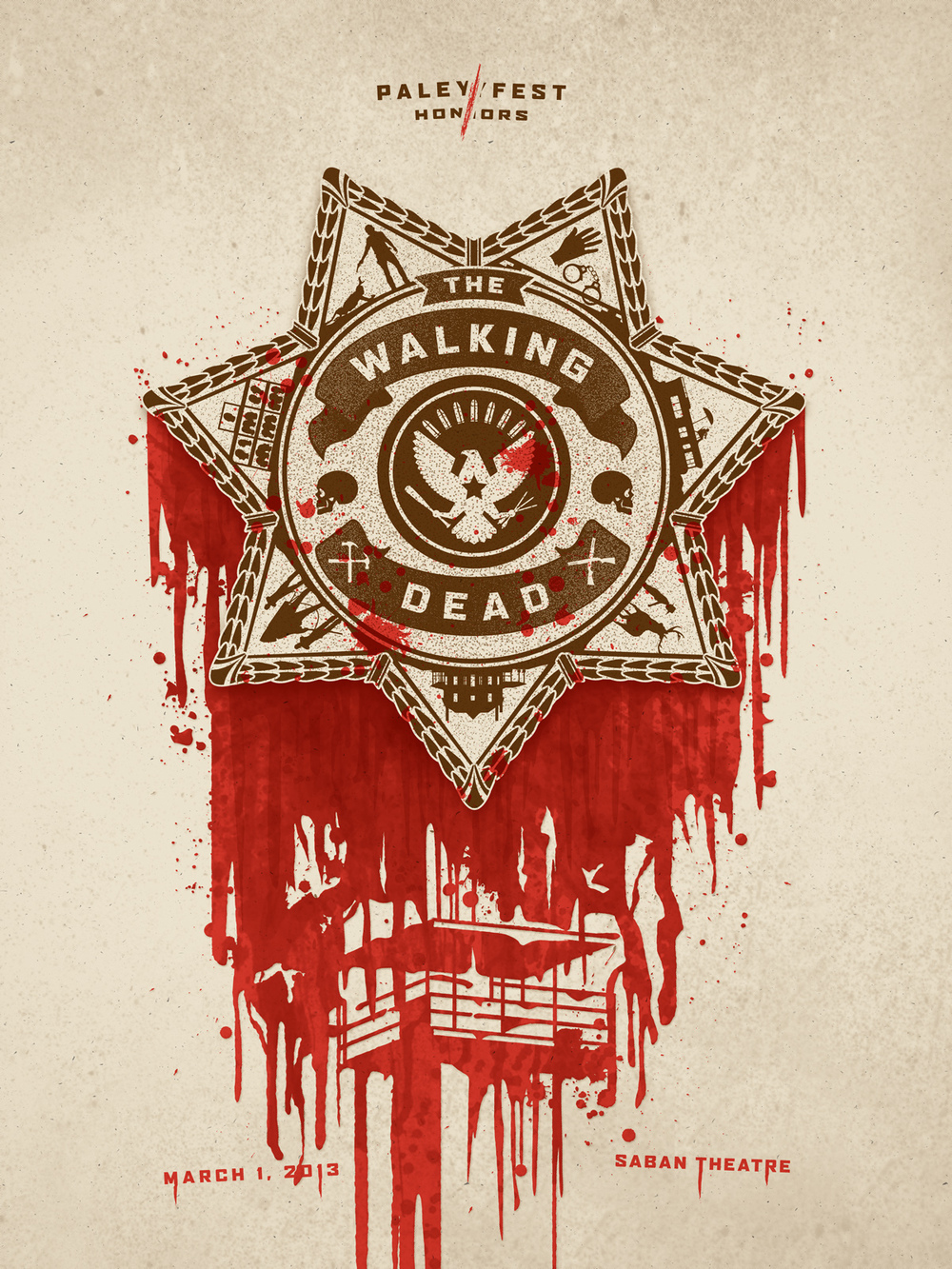The Walking Dead Poster by DKNG