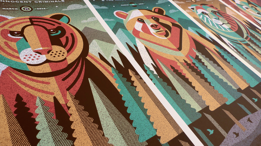 Ben Harper & The Innocent Criminals Poster Series by DKNG