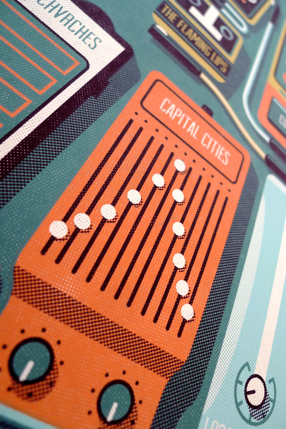 Outside Lands Poster by DKNG