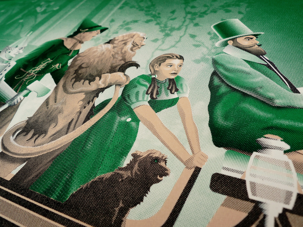 Wizard of Oz Poster by DKNG