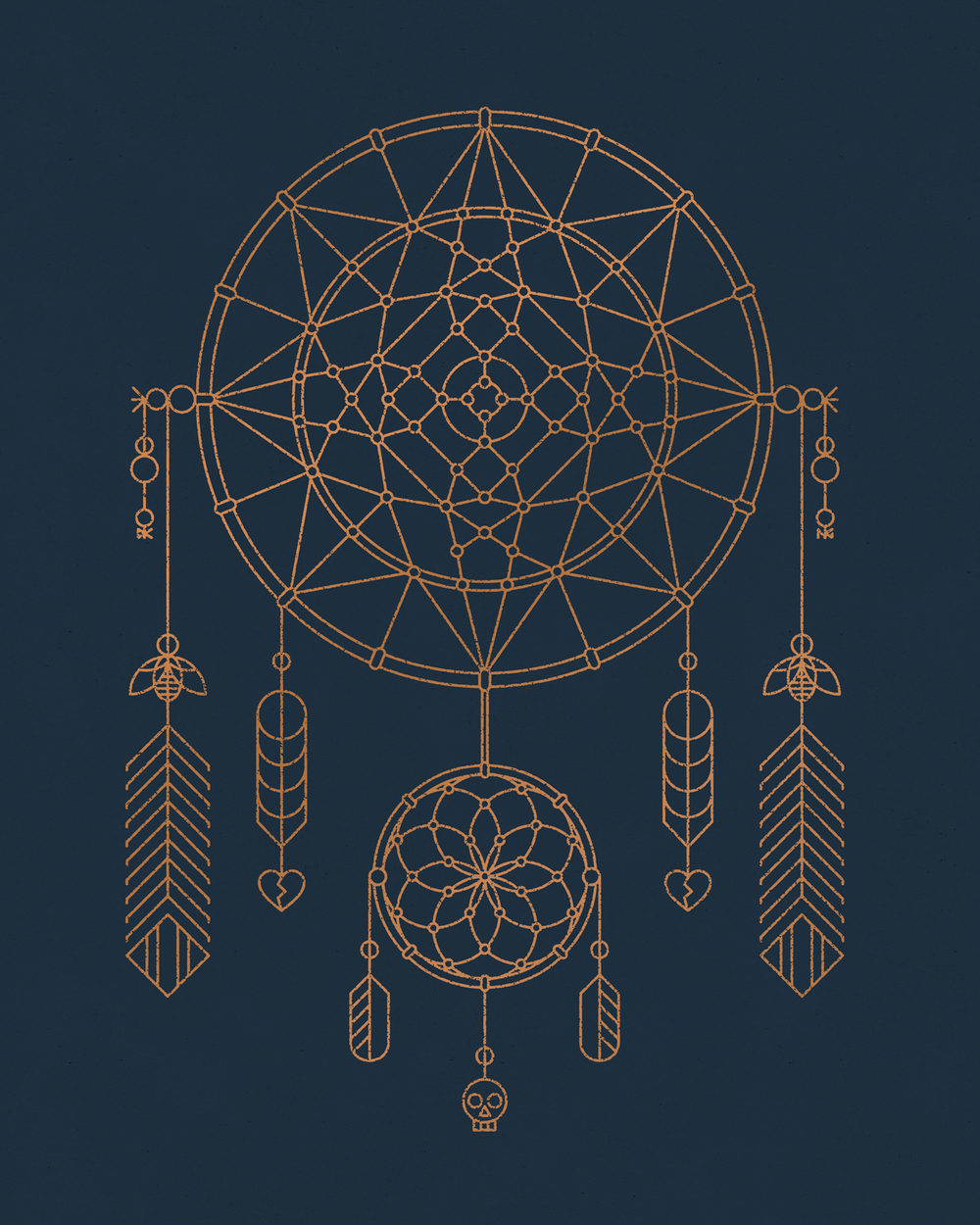 Dreamcatcher Art Print by DKNG