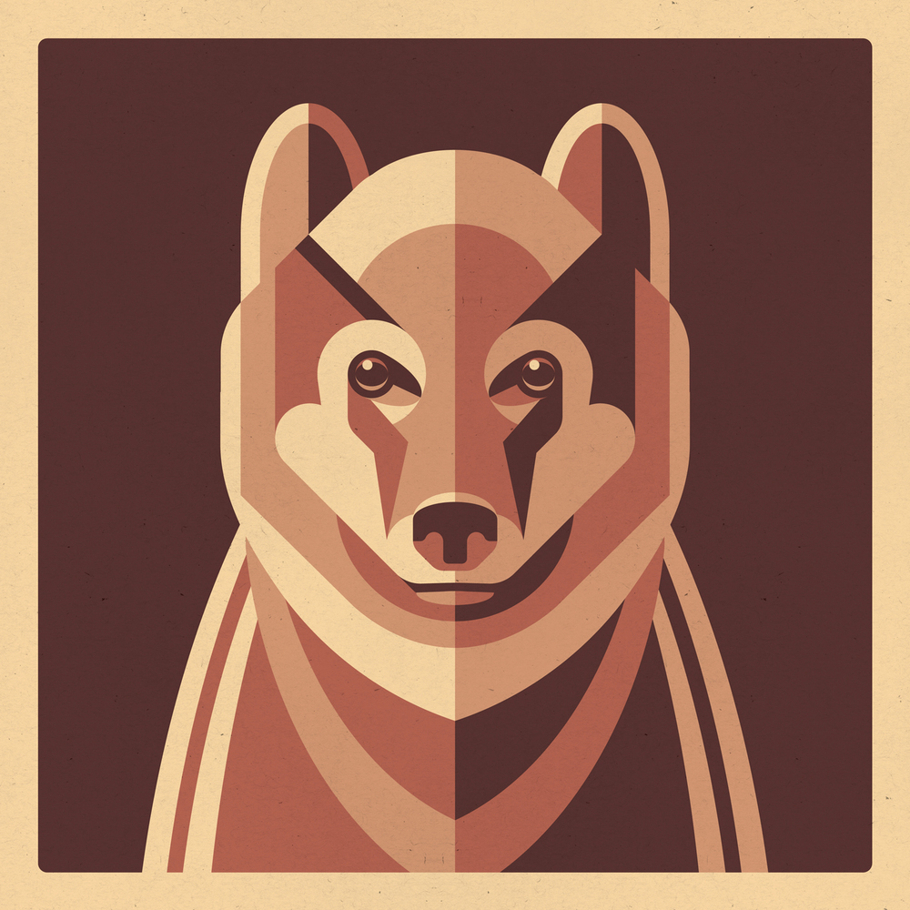 Wildlife Art Print Series by DKNG