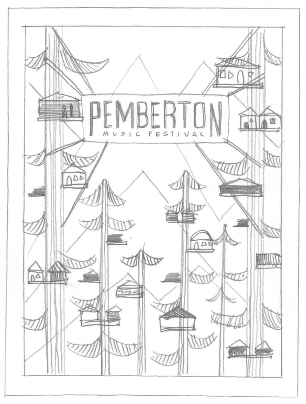 Pemberton Music Festival Logo