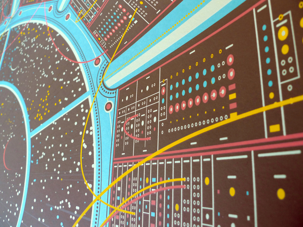 Moog Art Print by DKNG