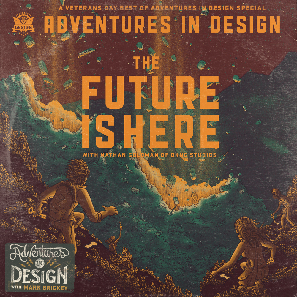 DKNG on a Veteran's Day Best of Episode of Adventures In Design
